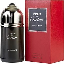 PASHA DE CARTIER EDITION NOIRE by Cartier EDT SPRAY 3.4 OZ for MEN