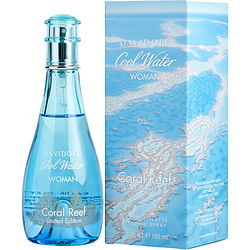 COOL WATER CORAL REEF by Davidoff EDT SPRAY 3.4 OZ (LIMITED EDITION) for WOMEN