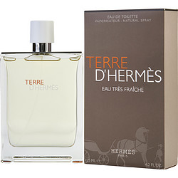 TERRE-DHERMES-by-Hermes-EAU-TRES-FRAICHE-EDT-SPRAY-4-2-OZ-for-MEN