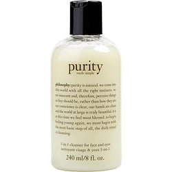 Philosophy by Philosophy Purity Made Simple – 3-in-1 cleanser for face and eyes - 8OZ for WOMEN