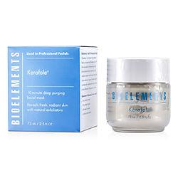 Bioelements by Bioelements Kerafole - 10-Minute Deep Purging Facial Mask - For All Skin Types, Except Sensitive -/2.5OZ for WOMEN