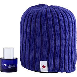 ALL AMERICAN STETSON by Coty SET-Cologne SPRAY 1 OZ & SKI CAP for MEN