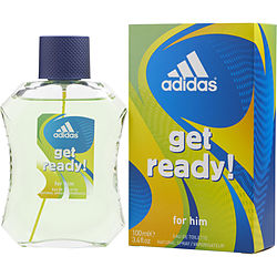 ADIDAS GET READY by Adidas EDT SPRAY 3.4 OZ for MEN