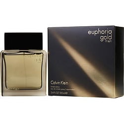 EUPHORIA MEN GOLD by Calvin Klein EDT SPRAY 3.4 OZ (LIMITED EDITION) for MEN