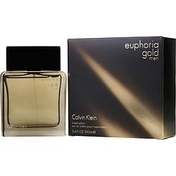 EUPHORIA MEN GOLD by Calvin Klein EDT SPRAY 3.4 OZ (LIMITED EDITION) for MEN
