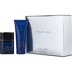 OSCAR POUR LUI by Oscar de la Renta SET-EDT SPRAY 3 OZ & HAIR AND BODY WASH 6.7 OZ for MEN