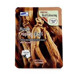 3W Clinic by 3W Clinic Mask Sheet - Fresh Red Ginseng -10pcs for WOMEN