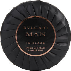 Bvlgari Man In Black By Bvlgari Shaving Soap 3.5 Oz For Men