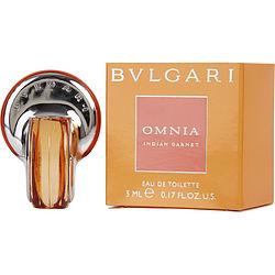 BVLGARI OMNIA INDIAN GARNET by Bvlgari EDT .17 OZ MINI for WOMEN