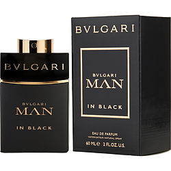 Bvlgari Man In Black By Bvlgari Eau De Parfum Spray 2 Oz For Men