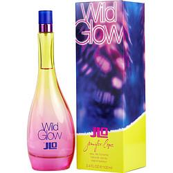 WILD GLOW by Jennifer Lopez EDT SPRAY 3.4 OZ for WOMEN