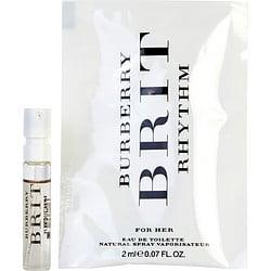 BURBERRY BRIT RHYTHM by Burberry EDT SPRAY VIAL for WOMEN