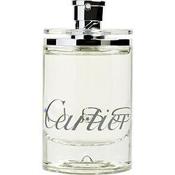 EAU DE CARTIER by Cartier EDT SPRAY 3.4 OZ *TESTER for UNISEX