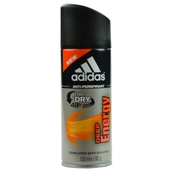 ADIDAS DEEP ENERGY by Adidas ANTI PERSPIRANT DEODORANT SPRAY 5 OZ (DEVELOPED WITH ATHLETES) for MEN