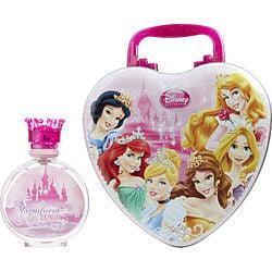 DISNEY PRINCESS by Disney SET-EDT SPRAY 3.4 OZ & METAL LUNCH BOX for WOMEN 267771