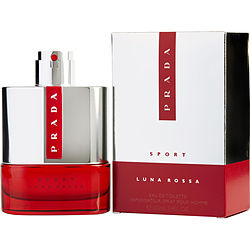 PRADA LUNA ROSSA SPORT by Prada EDT SPRAY 3.4 OZ for MEN Launched by the design house of Prada in 2015, PRADA LUNA ROSSA SPORT by Prada for MEN posesses a blend of: Juniper Berries, Ginger, Lavender, Vanilla, Tonka Bean It is recommended for wear.