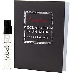 DECLARATION D'UN SOIR by Cartier EDT SPRAY VIAL ON CARD for MEN