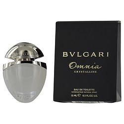 BVLGARI OMNIA CRYSTALLINE by Bvlgari EDT SPRAY .5 OZ for WOMEN