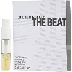 BURBERRY THE BEAT by Burberry EDT SPRAY VIAL ON CARD for WOMEN