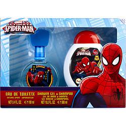 SPIDERMAN by Marvel SET-EDT SPRAY 3.4 OZ (ULTIMATE) & SHOWER GEL AND SHAMPOO 10.2 OZ for MEN 268929