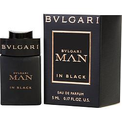 BVLGARI MAN IN BLACK by Bvlgari EDP .17 OZ MINI for MEN