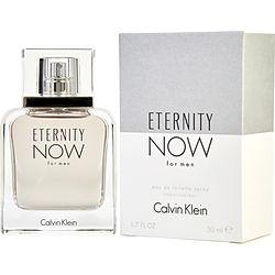 ETERNITY NOW by Calvin Klein EDT SPRAY 1.7 OZ for MEN