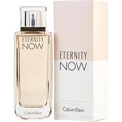 ETERNITY NOW by Calvin Klein EDP SPRAY 3.4 OZ for WOMEN