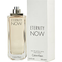 ETERNITY NOW by Calvin Klein EDP SPRAY 3.4 OZ *TESTER for WOMEN