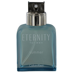 ETERNITY SUMMER by Calvin Klein EDT SPRAY 3.4 OZ (EDITION 2012) - 95% FULL for MEN