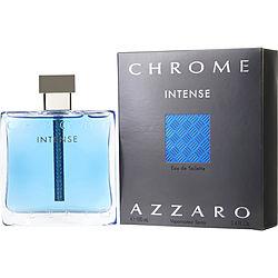 CHROME INTENSE by Azzaro EDT SPRAY 3.4 OZ for MEN
