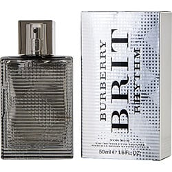 BURBERRY BRIT RHYTHM INTENSE by Burberry EDT SPRAY 1.6 OZ for MEN