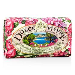 'Nesti Dante By Nesti Dante Dolce Vivere Fine Natural Soap - Sicilia - Bouganville, Marine Sea Salt & Papyrus Tree -/8.8oz For Women