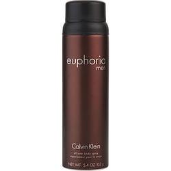 EUPHORIA MEN by Calvin Klein BODY SPRAY 5.4 OZ for MEN