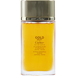 MUST DE CARTIER GOLD by Cartier EDP SPRAY 3.3 OZ *TESTER for WOMEN
