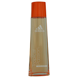 ADIDAS TROPICAL PASSION by Adidas EDT SPRAY 2.5 OZ - 95% FULL for WOMEN