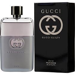 GUCCI GUILTY EAU POUR HOMME by Gucci EDT SPRAY 3 OZ for MEN