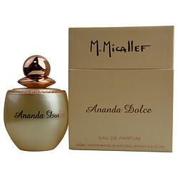 M. MICALLEF PARIS ANANDA DOLCE by Parfums M Micallef EDP SPRAY 3.3 OZ for WOMEN