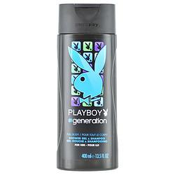 PLAYBOY #GENERATION by Playboy SHOWER GEL & SHAMPOO 13.5 OZ for MEN 283006