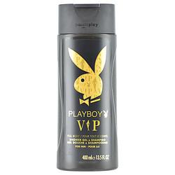 PLAYBOY VIP by Playboy SHOWER GEL & SHAMPOO 13.5 OZ for MEN 283007