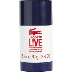 LACOSTE LIVE by Lacoste DEODORANT STICK 2.4 OZ for MEN