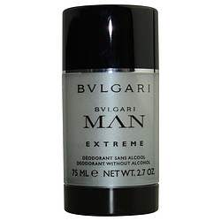 BVLGARI MAN EXTREME by Bvlgari DEODORANT STICK ALCOHOL FREE 2.7 OZ for MEN