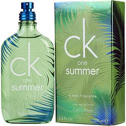 CK ONE SUMMER by Calvin Klein EDT SPRAY 3.4 OZ (LIMITED EDITION 2016) for UNISEX