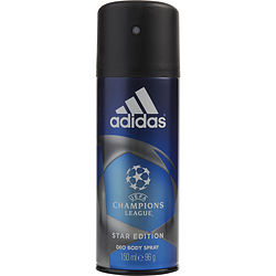 ADIDAS UEFA CHAMPIONS LEAGUE by Adidas BODY SPRAY 5 OZ (STAR EDITION) for MEN