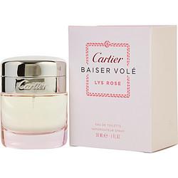 CARTIER BAISER VOLE LYS ROSE by Cartier EDT SPRAY 1 OZ for WOMEN