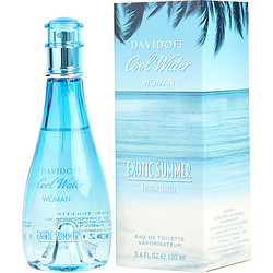 COOL WATER EXOTIC SUMMER by Davidoff EDT SPRAY 3.4 OZ for WOMEN