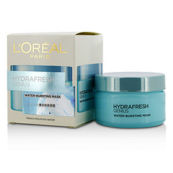 L'OREAL by L'Oreal Hydrafresh Genius Water - Bursting Mask  -  / 3.3OZ for WOMEN