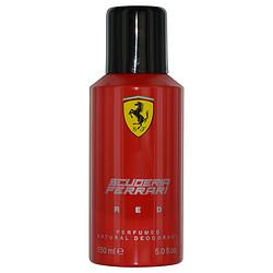 Ferrari Scuderia Red By Ferrari Deodorant Spary 5 Oz For Men