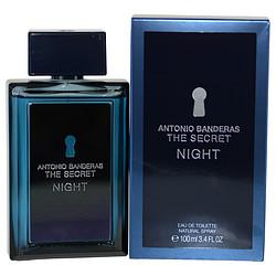 THE SECRET NIGHT by Antonio Banderas EDT SPRAY 3.4 OZ for MEN