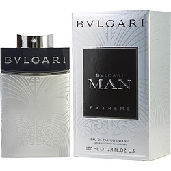 BVLGARI MAN EXTREME by Bvlgari EDP INTENSE SPRAY 3.4 OZ for MEN