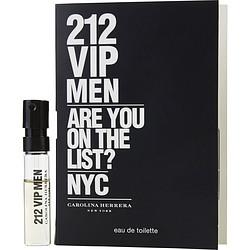 212 VIP by Carolina Herrera EDT SPRAY VIAL MINI for MEN